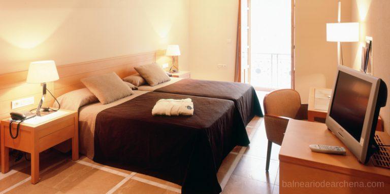 Habitación. Hotel. Balneario de Archena, relax en Murcia