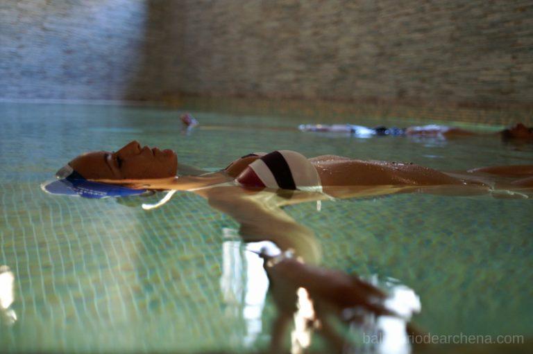 Relax flotante Balneario de Archena, Murcia #MaratónDelRelax #RumboSurJuntos