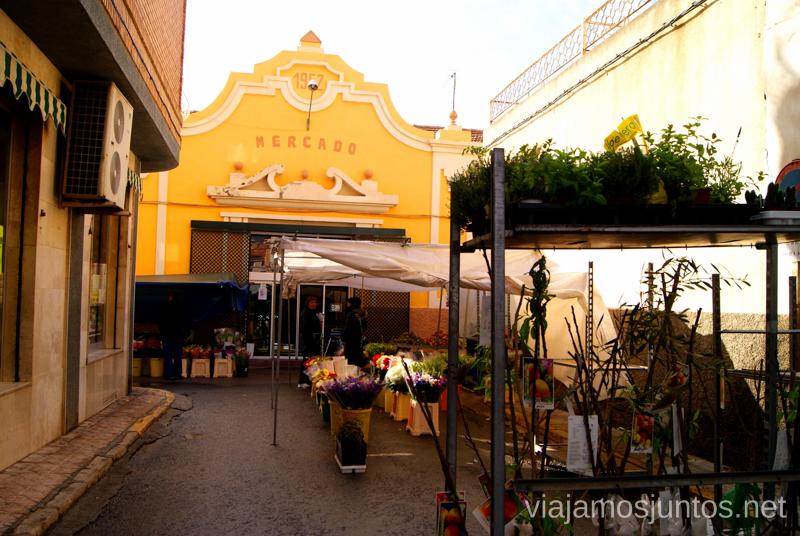 Detrás del Mercado Central está el Mercado al aire libre Balneario de Archena, Murcia #MaratónDelRelax #RumboSurJuntos