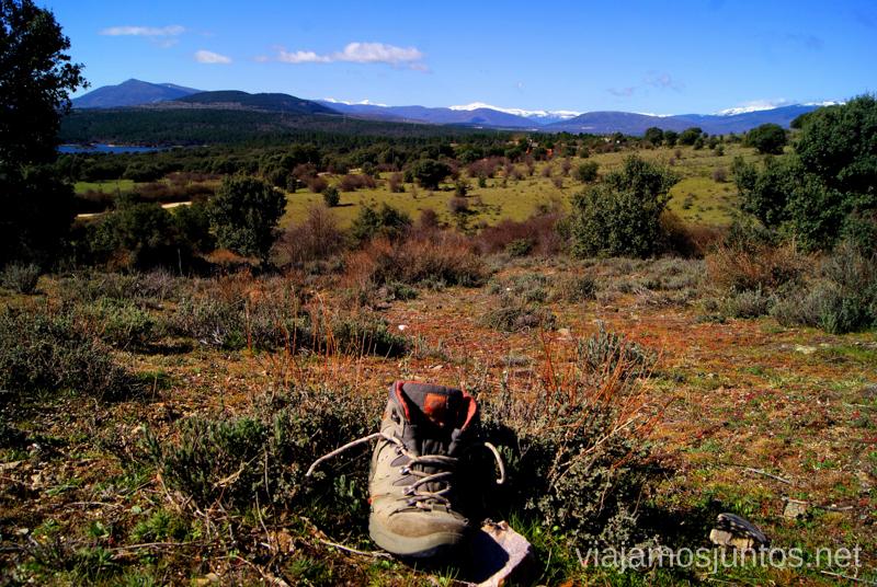 La bota solitaria Ruta: La Guerra Civil en Madrid, Frente del Agua. Paredes de Buitrago.