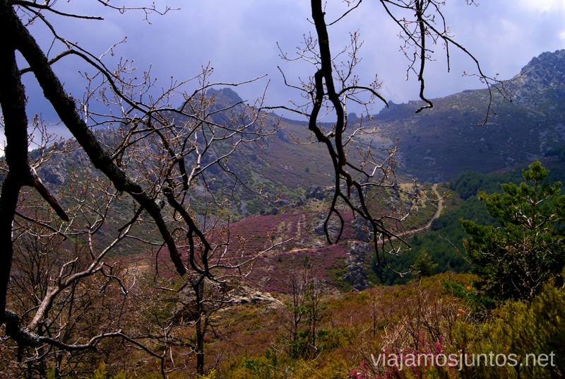 Ruta de las cascadas Despeñaguas. Valverde de los Arroyos. Pueblos Negros de Guadalajara