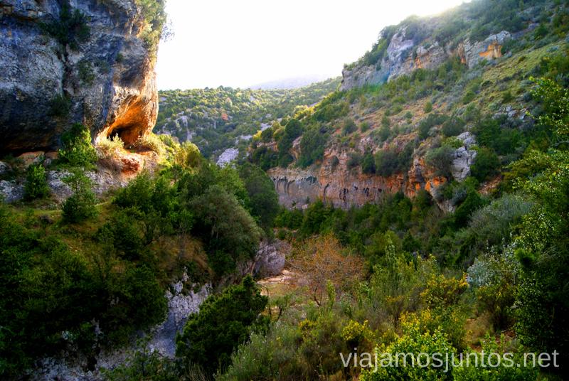 ¡Buen viaje por Rodellar! Ruta circular Camping el Puente - Rodellar. Huesca, Aragón.