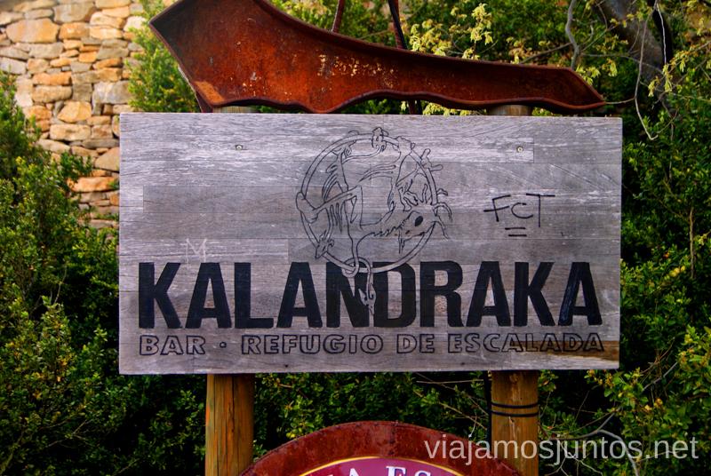 Refugio de Escalada Kalandraka Ruta circular Camping el Puente - Rodellar. Huesca, Aragón.