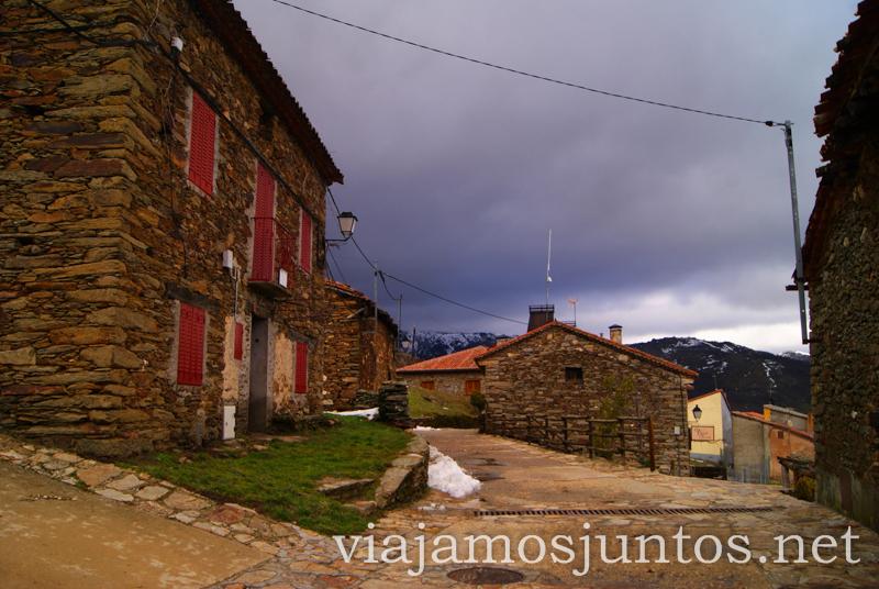 La Hiruela unos minutos antes de la tormenta Pueblos con encanto de la Sierra Norte de Madrid, Puebla de la Sierra, la Hiruela