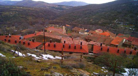 Vistas de la Hiruela Pueblos con encanto de la Sierra Norte de Madrid, Puebla de la Sierra, la Hiruela