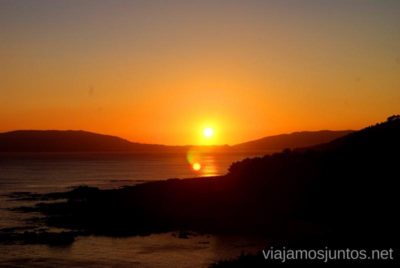 Atardecer en el Cabo Cee Mejores playas de la Costa da Morta, Galicia