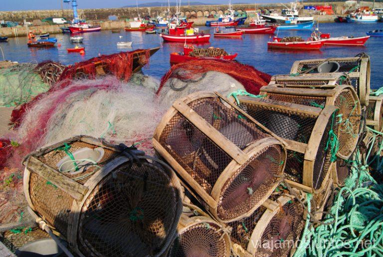 Laxe, puerto Mejores playas de la Costa da Morta, Galicia