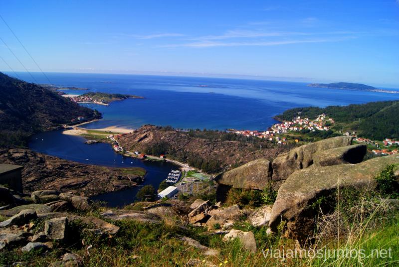 Mirador de la cascada de Ézaro Mejores playas de la Costa da Morta, Galicia