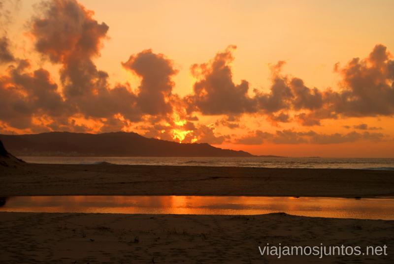 El atardecer de Carnota Mejores playas de la Costa da Morta, Galicia