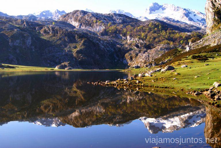 Los lagos de Covadonga Asturias, que hacer, donde ir; montaña, playa, pueblos con encanto