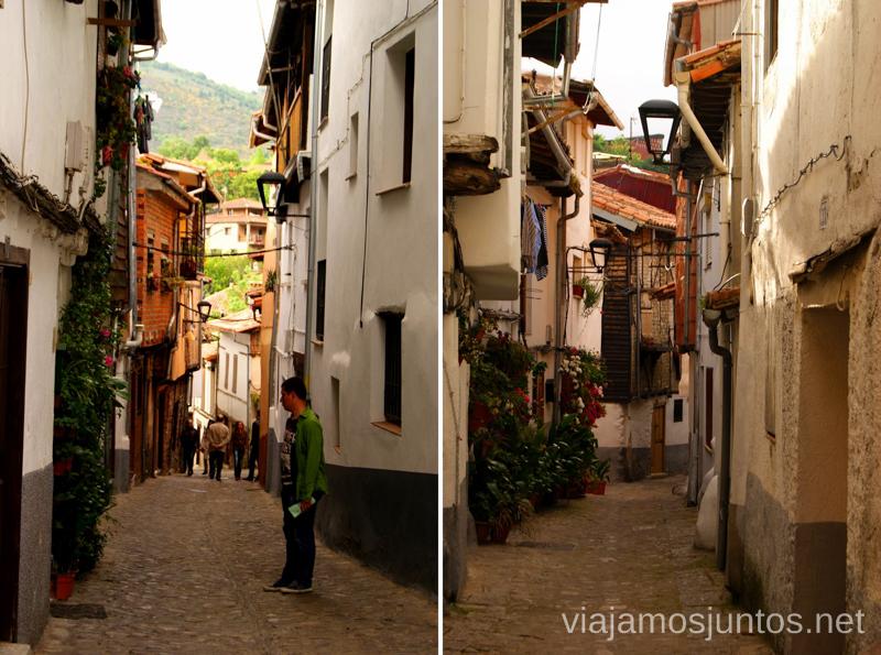 Las calles sin orden Hervás, Extremadura, que ver y hacer. Pueblos con encanto