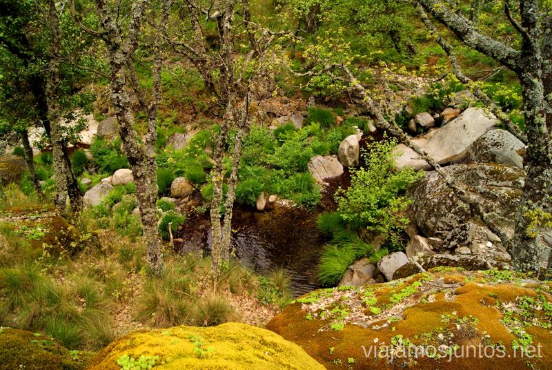 ¡Empecemos! Ruta de la Chorrera, Hervás, Extremadura.