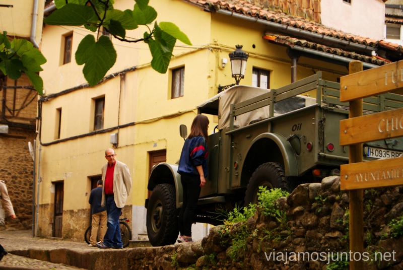 Coche militar Hervás, Extremadura, que ver y hacer. Pueblos con encanto