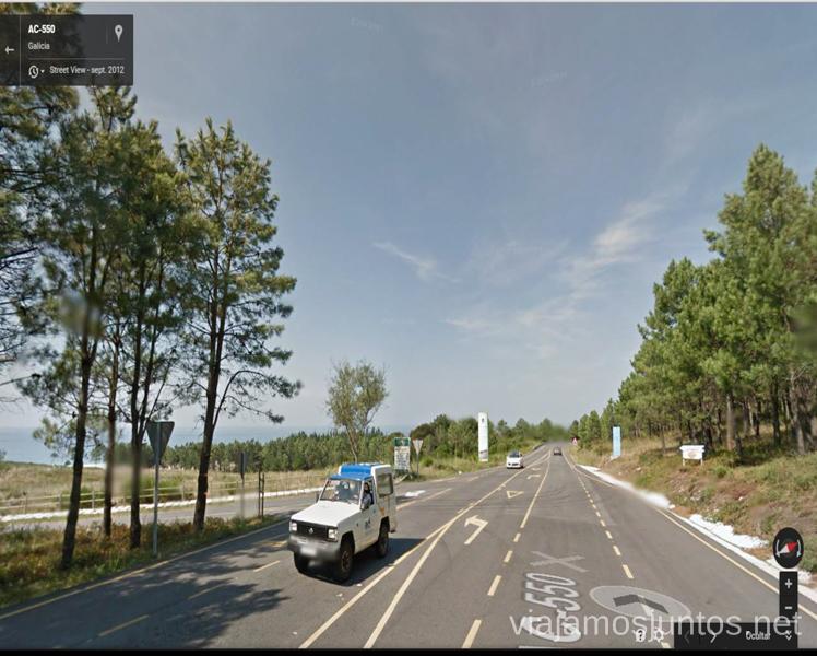 A la izquierda aquí Mejores playas de la Costa da Morta, Galicia