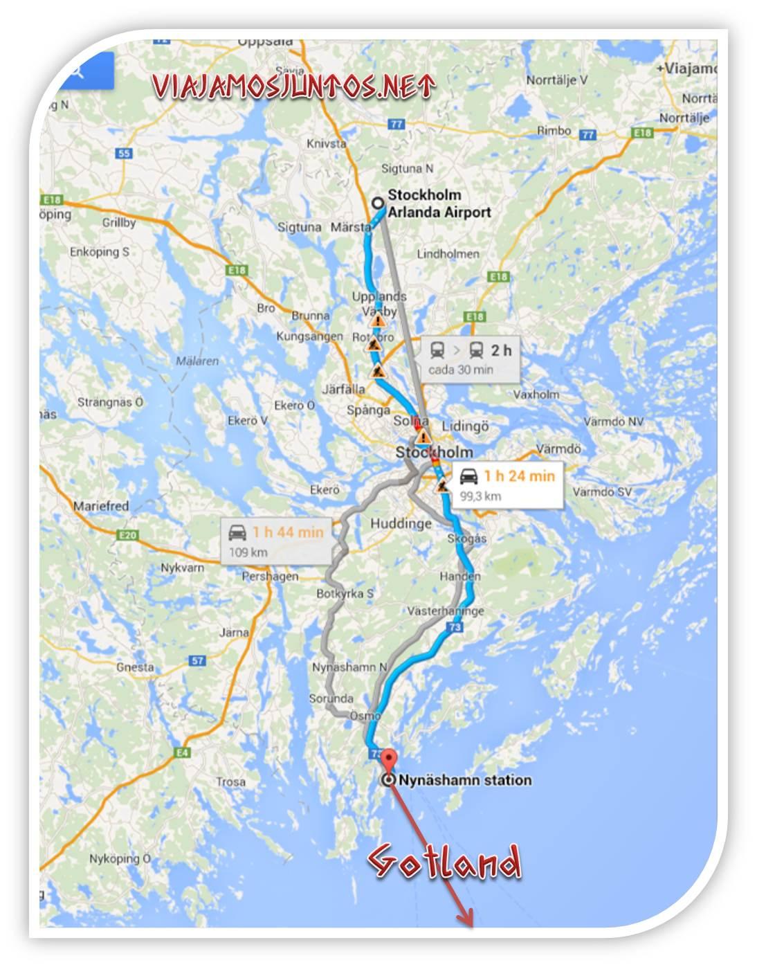 Suecia, Gotland, Arlanda, Visby, transporte, ahorrar, tips, consejos
