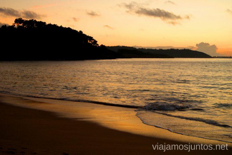 Playa del Lago Mejores playas de la Costa da Morta, Galicia