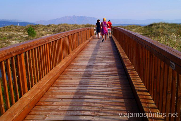 Largo camino hacía la playa... Mejores playas de la Costa da Morta, Galicia