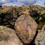 Vistas panorámicas de la sierra Ruta circular por La Pedriza, Parque Regional de la Cuenca Alta del Manzanares, Madrid