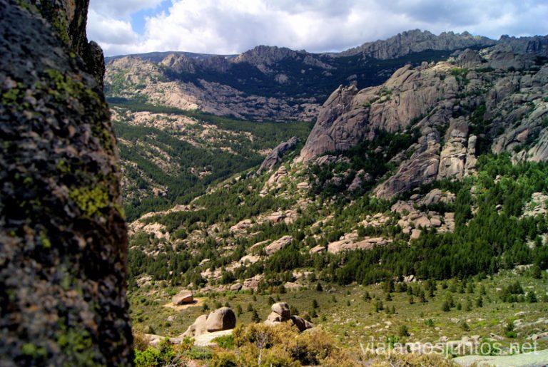Una parada con paisajes Ruta circular por La Pedriza, Parque Regional de la Cuenca Alta del Manzanares, Madrid