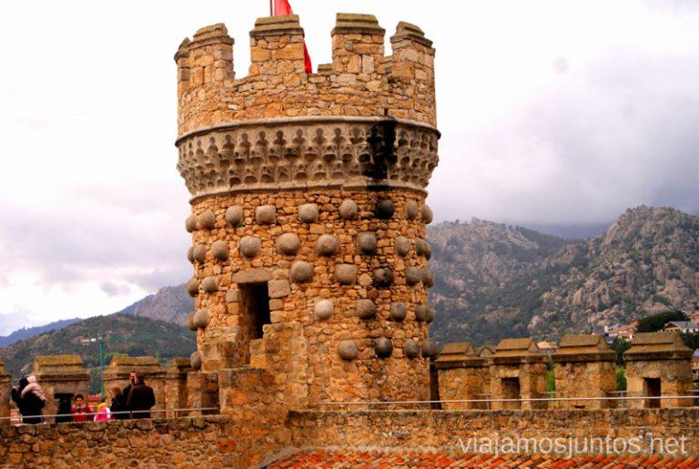 La torre del Castillo de Manzanares hacer y que ver en la Pedriza, Parque Regional de la Cuenca Alta del Manzanares, y el Manzanares el Real