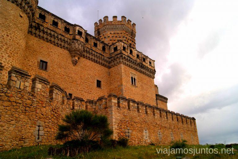 El Castillo de los Mendoza en Manzanares hacer y que ver en la Pedriza, Parque Regional de la Cuenca Alta del Manzanares, y el Manzanares el Real