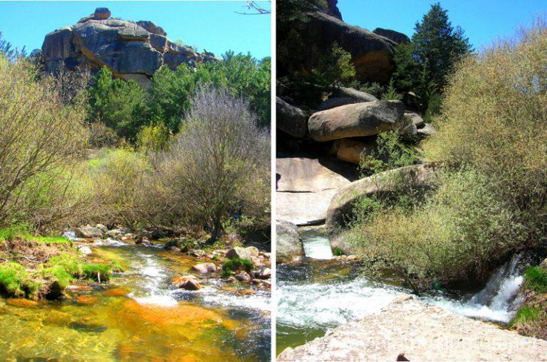 Las pozas del río Manzanares hacer y que ver en la Pedriza, Parque Regional de la Cuenca Alta del Manzanares, y el Manzanares el Real