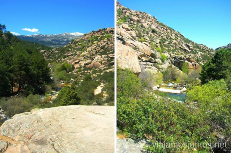 Camino a la playa de Manzanares hacer y que ver en la Pedriza, Parque Regional de la Cuenca Alta del Manzanares, y el Manzanares el Real