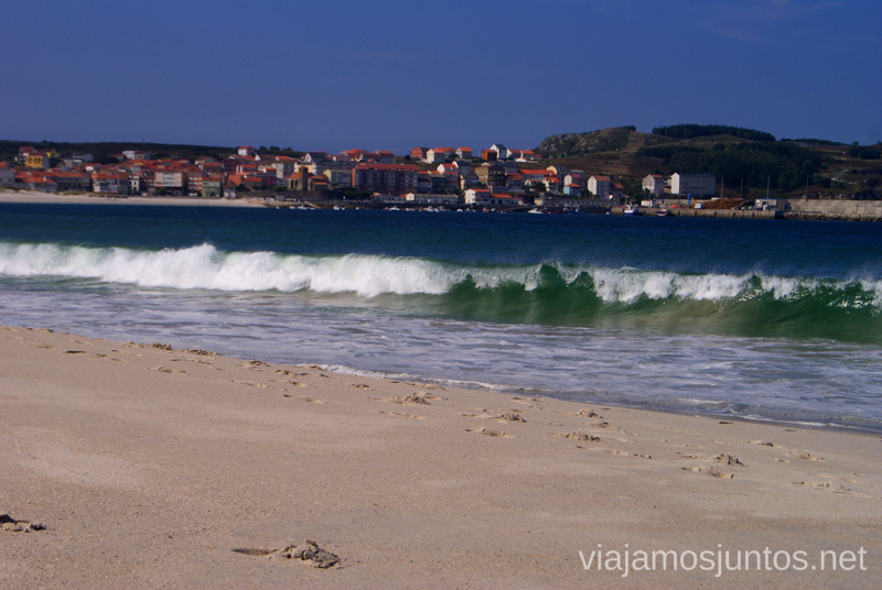 La playa de Laxe Mejores playas de la Costa da Morta, Galicia