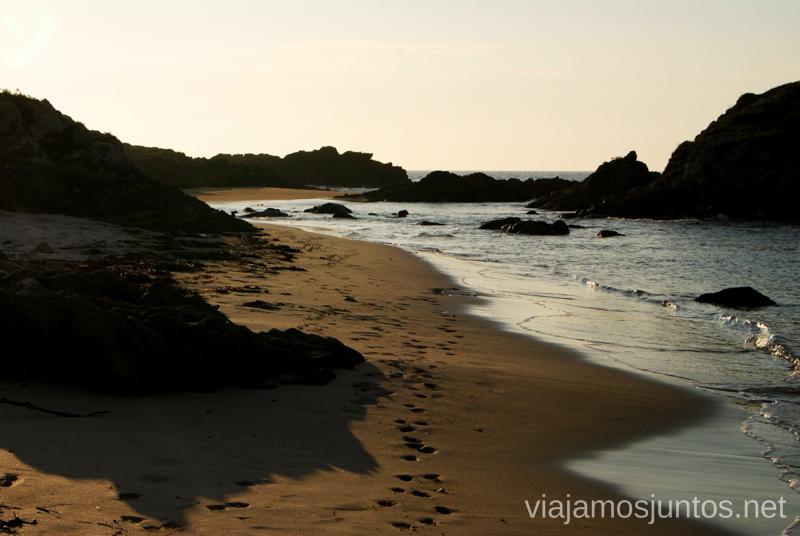 Playa de Lires, escondida Mejores playas de la Costa da Morta, Galicia
