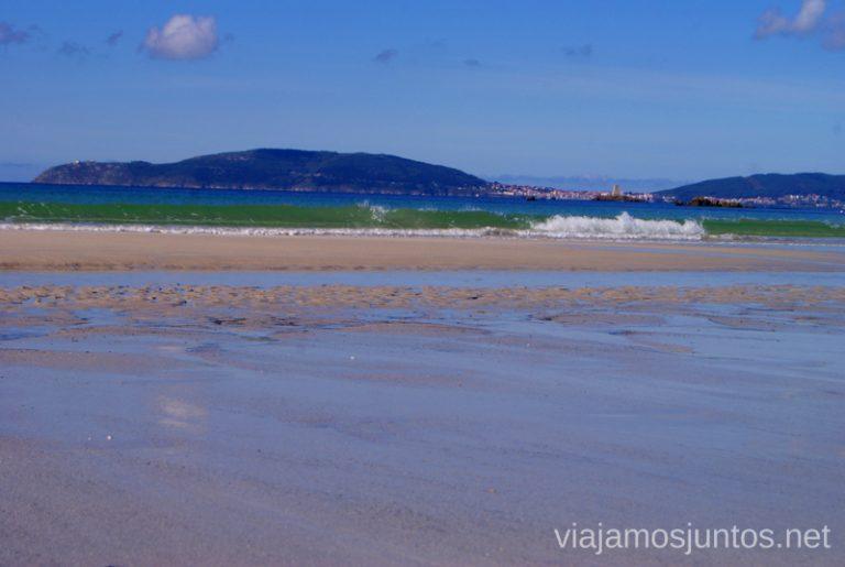 Aguas turquesas Mejores playas de la Costa da Morta, Galicia