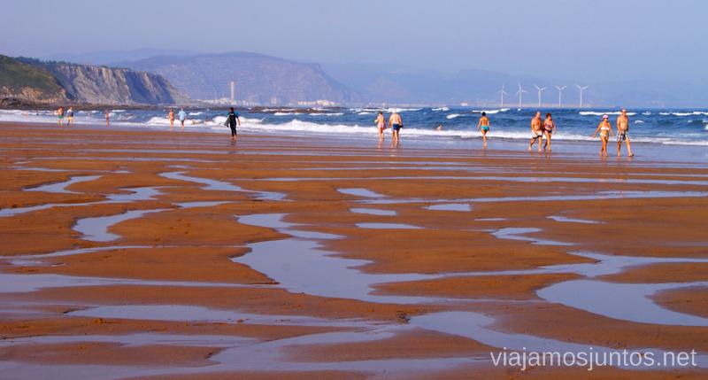 Playas sin fín País Vasco. Vacaciones, verano, donde ir