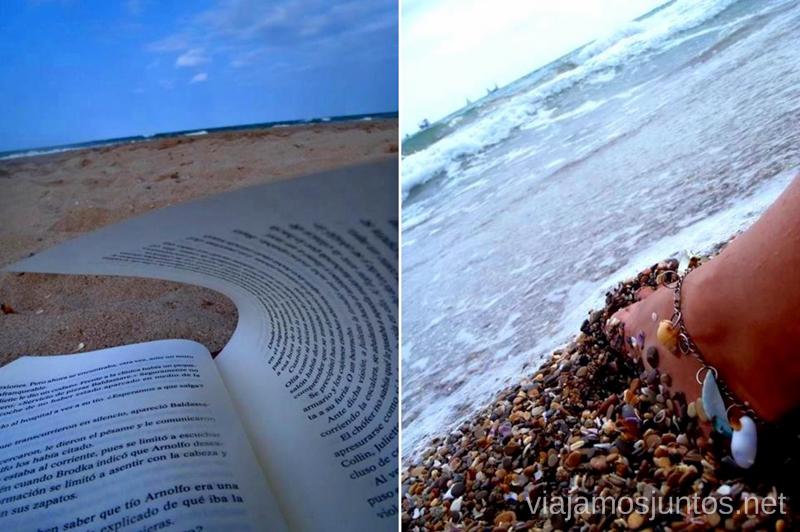 Ensimismamiento en la playa Playas de la Península Ibérica