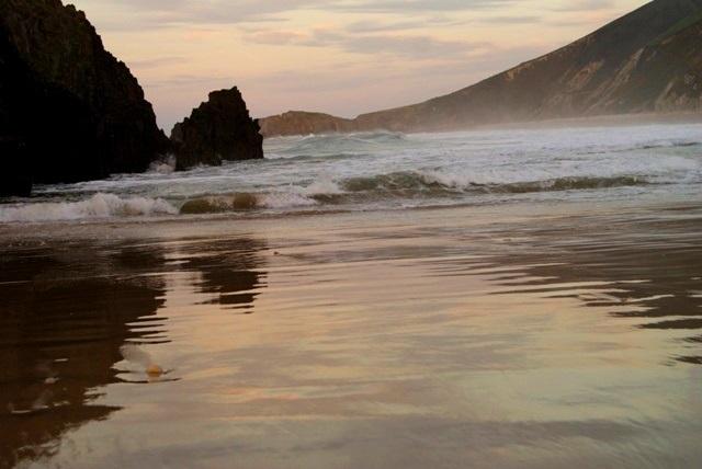 Atardecer nórdico Playas de la Península Ibérica
