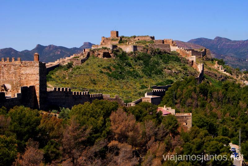 El Gran Castillo Que ver y que hacer en Sagunto, Valencia.