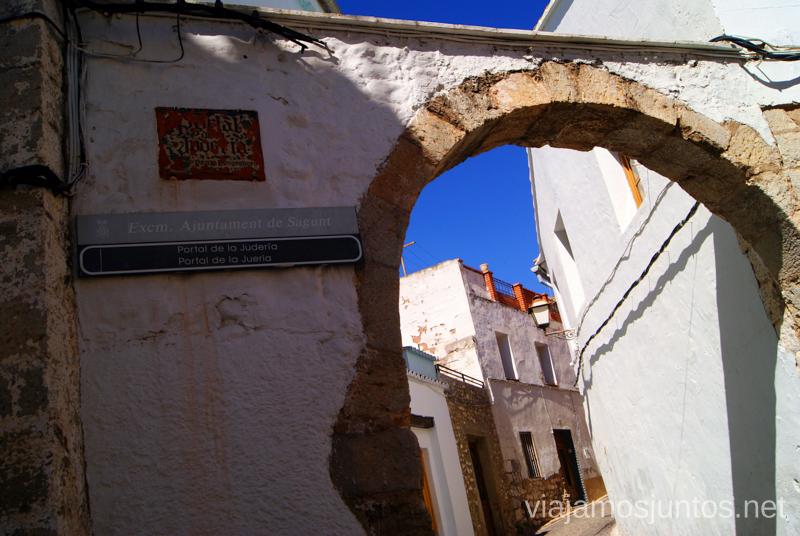 La Puerta de la Judería Que ver y que hacer en Sagunto, Valencia.
