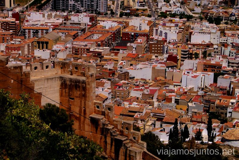 Sagunto dominado por el Castillo Que ver y que hacer en Sagunto, Valencia.
