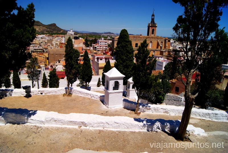 Sagunto desde el Calvario Que ver y que hacer en Sagunto, Valencia.