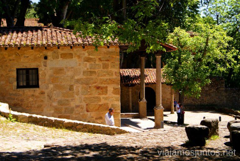 La entrada Ruta de mediodía al Monasterio de Yuste y pueblo-conjunto artístico Garganta la Olla, Extremadura