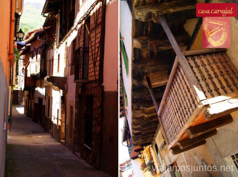 La casa de la Serrana Ruta de mediodía al Monasterio de Yuste y pueblo-conjunto artístico Garganta la Olla, Extremadura