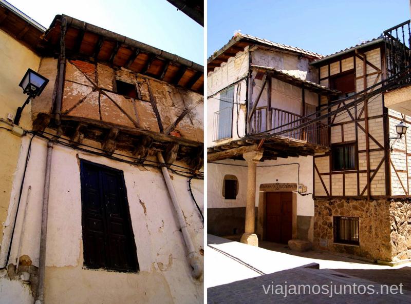 Arquitectura típica de la zona Ruta de mediodía al Monasterio de Yuste y pueblo-conjunto artístico Garganta la Olla, Extremadura