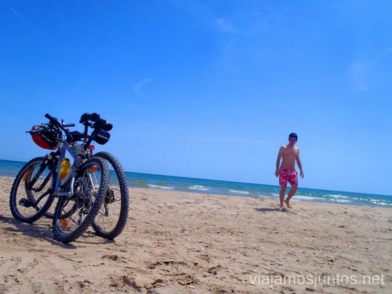 Un poco de paseo en bici Valencia