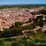 Sagunto desde el Castillo Las playas Valencianas