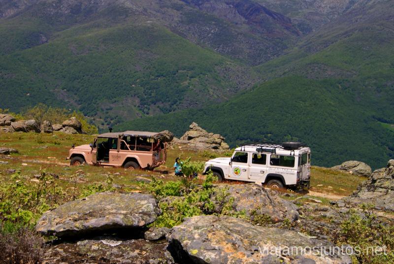 De ruta por la Reserva Natural Garganta de los Infiernos Ruta en 4x4 por lo alto del Valle del Jerte, Extremadura