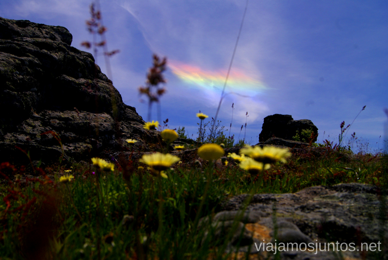 La aurora boreal vetona... Ruta en 4x4 por lo alto del Valle del Jerte, Extremadura