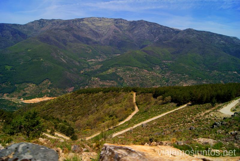 Valle del Jerte desde arriba Ruta en 4x4 por lo alto del Valle del Jerte, Extremadura