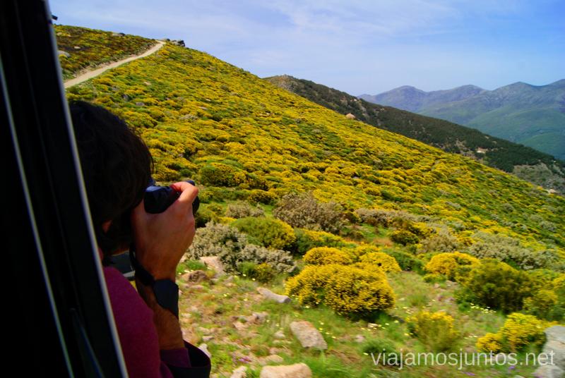 Haciendo fotos sin parar Ruta en 4x4 por lo alto del Valle del Jerte, Extremadura
