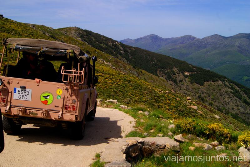 Seguimos la ruta Ruta en 4x4 por lo alto del Valle del Jerte, Extremadura