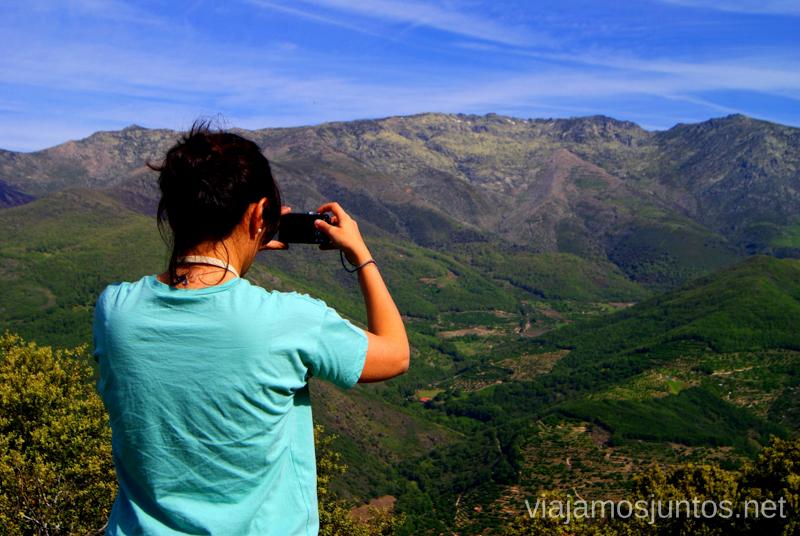 Disfrutando de la tranquilidad Ruta en 4x4 por lo alto del Valle del Jerte, Extremadura