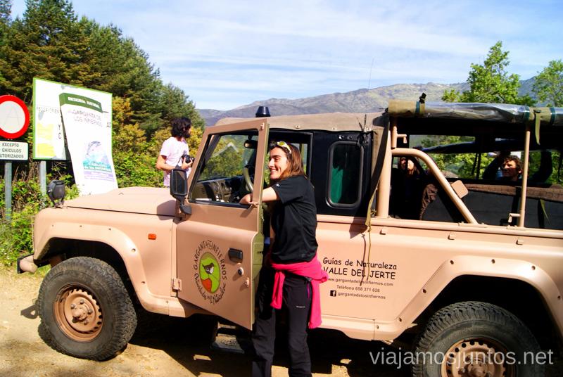 ¿Cambio de conductor? Ruta en 4x4 por lo alto del Valle del Jerte, Extremadura