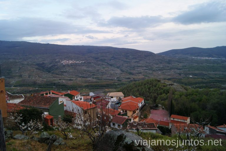 Paseos y vistas Pueblos con encanto del Valle del Jerte